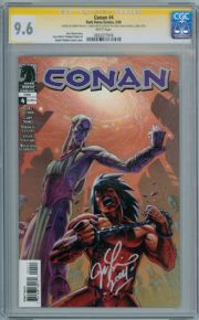 Conan #4 CGC 9.6 Signature Series Signed Joseph Michael Linsner Dark Horse comic book